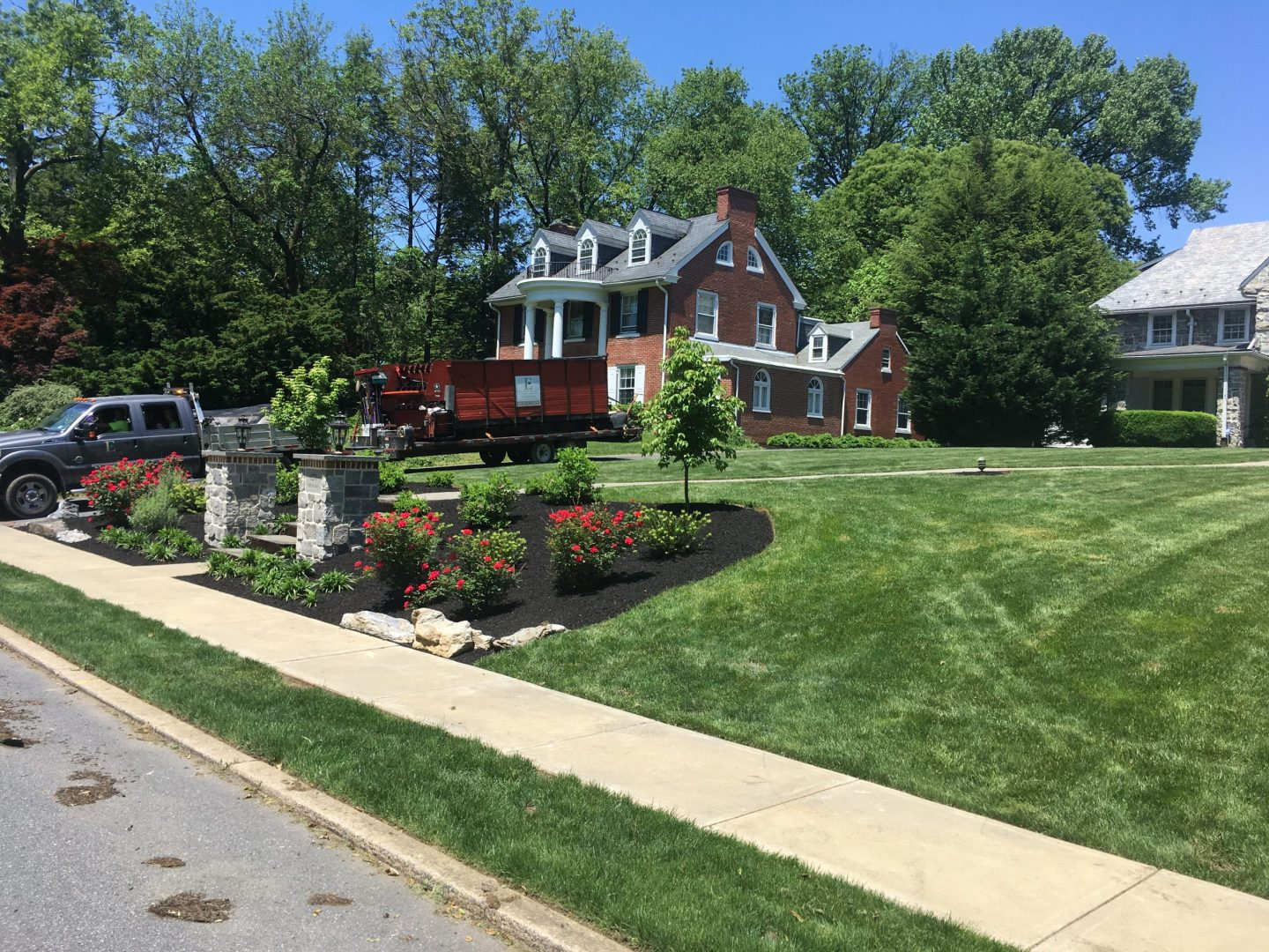 home landscaping company