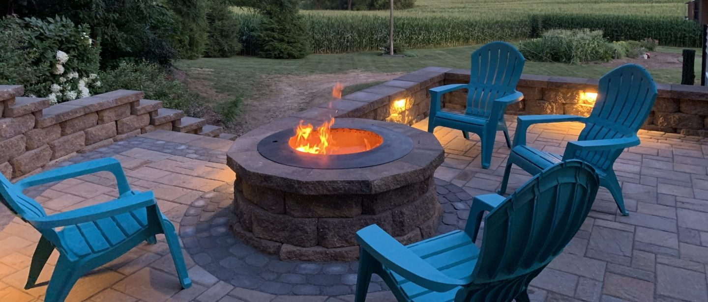 patio landscaping and hardscaping