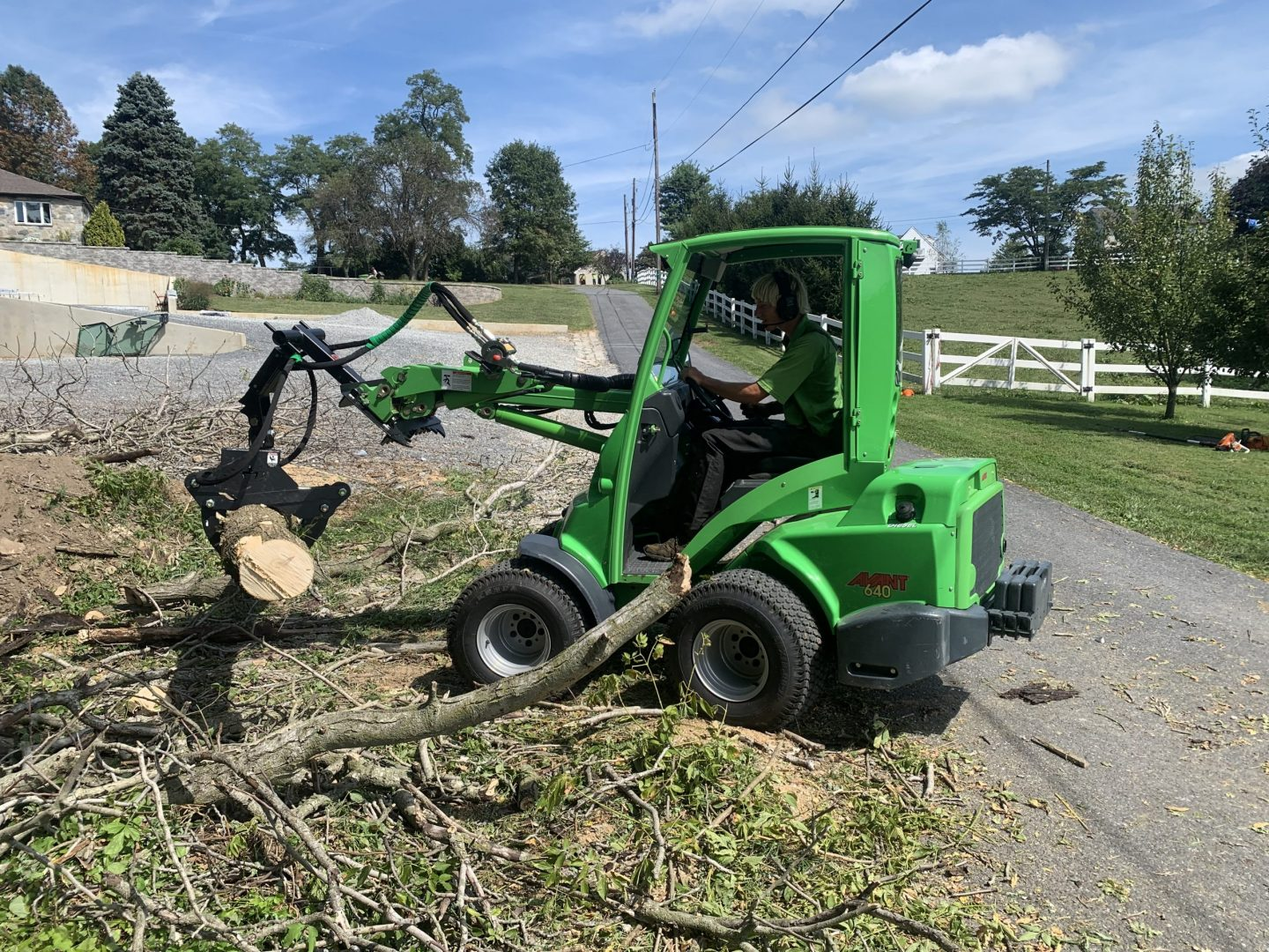 machinery for tree removal